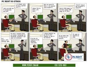 PC RENT vs Otros.
